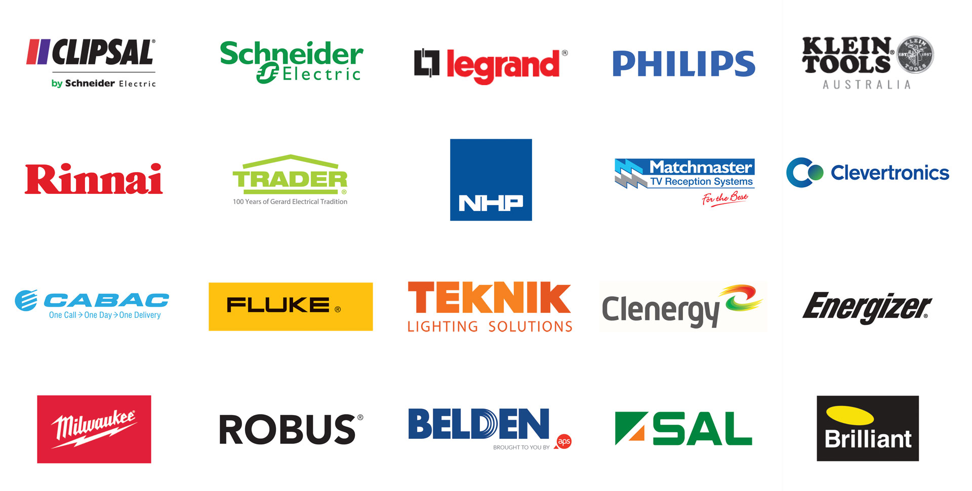 Sparky Plus Collage of Supplier Logos (Popular)